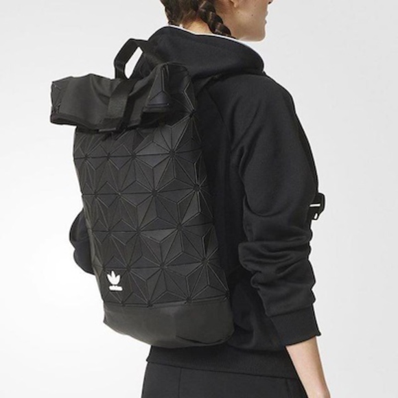 82060f85f0f7 adidas Handbags - ADIDAS Originals DH 0100BP Roll Top 3D Backpack